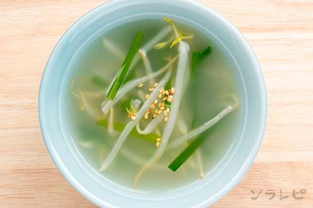 モヤシとニラの中華スープ_main2