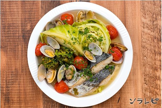 サワラと春野菜のアクアパッツァ_main2