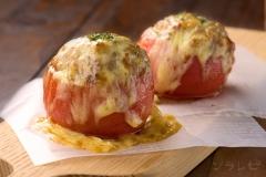 トマトの肉詰めオーブン焼き