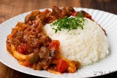 ビーフストロガノフ風ご飯