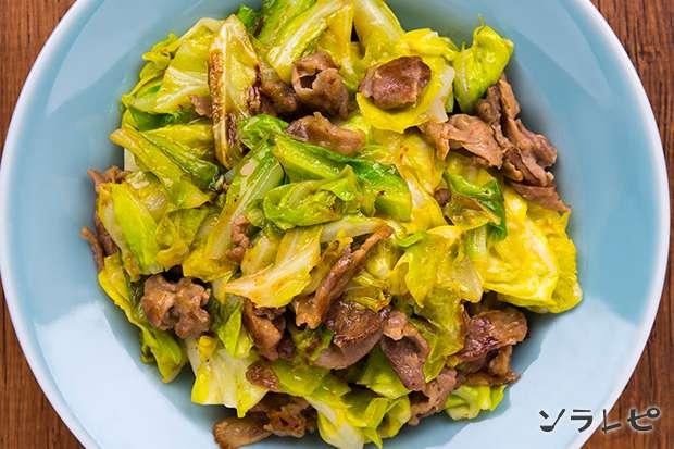 豚肉とキャベツのオイスターマヨネーズ炒め_main2