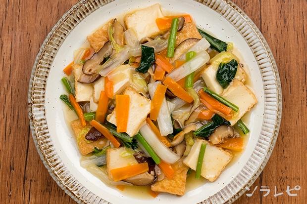 厚揚げと野菜の塩あんかけ炒め_main2