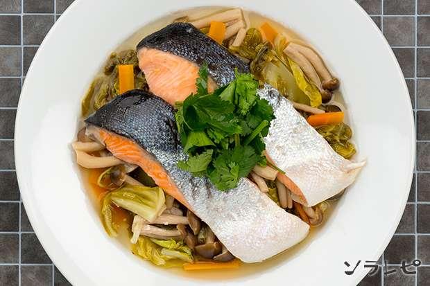 鮭とキャベツのエスニック蒸し_main2