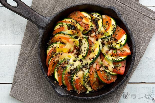 ズッキーニとトマトの重ね焼き_main2
