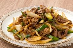 牛肉の生姜炒め