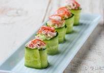 きゅうりのロールサラダ