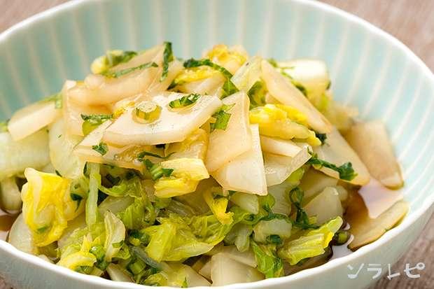 白菜と大葉の甘酢和え_main1