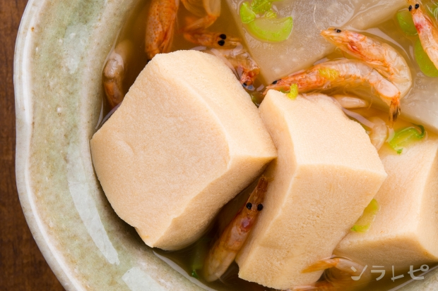 高野豆腐と桜えびの煮物_main2