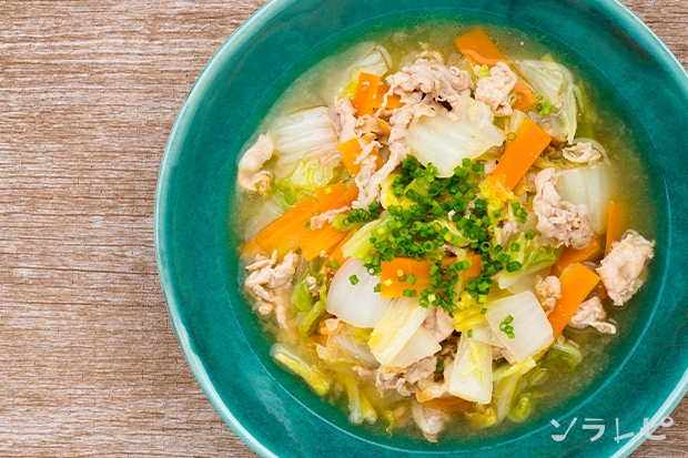豚肉と白菜のニンニク味噌煮_main2
