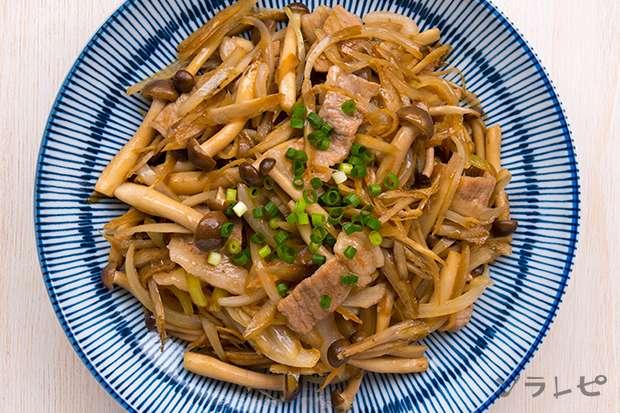 豚肉とゴボウの甘辛炒め_main2