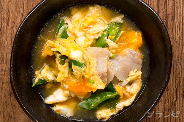 豚肉とスナップエンドウの卵とじ_main2