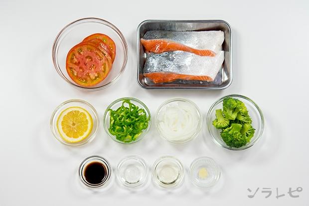 鮭のにんにく醤油蒸し_main3