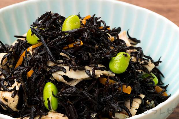 枝豆とヒジキの生姜和え_main1