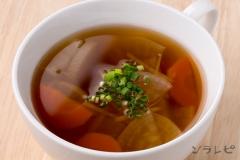 大根と生姜の和風スープ