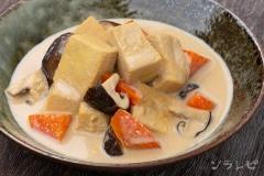 豆乳で作る高野豆腐の含め煮