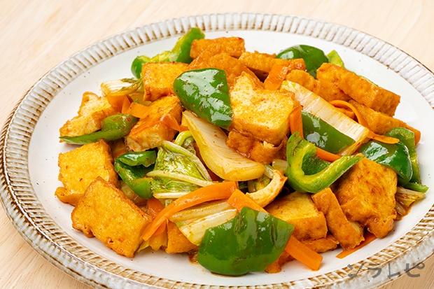 厚揚げと野菜のオイスターソース炒め_main1