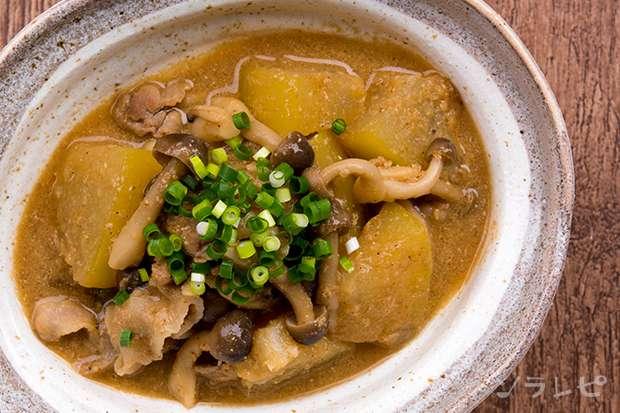 冬瓜と豚肉のごま味噌煮_main2