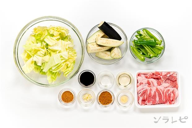 豚肉と茄子のカレー風味ソテー_main3