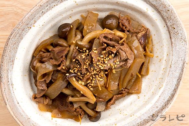 牛肉とコンニャクのすき煮_main2