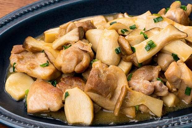 鶏肉とエリンギのマヨポン炒め_main1