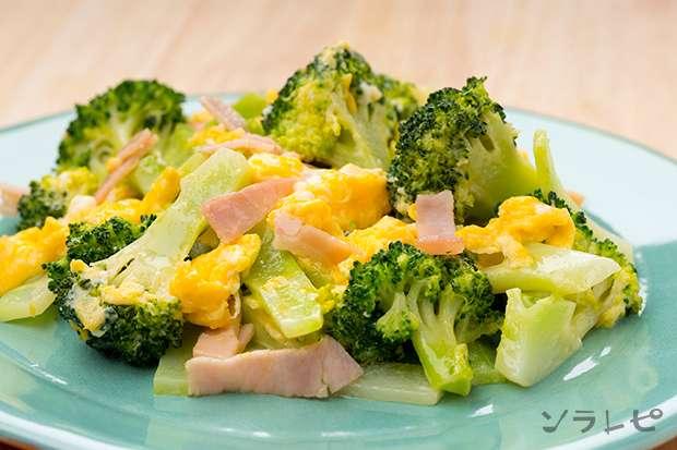 ブロッコリーと卵のマヨ炒め_main1