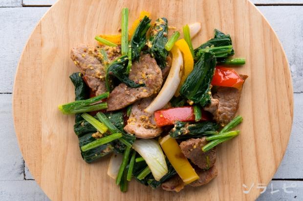 パプリカと豚肉のマスタード炒め_main2