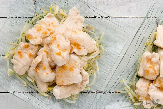 鶏肉のくずたたき梅肉ソースがけ_main2