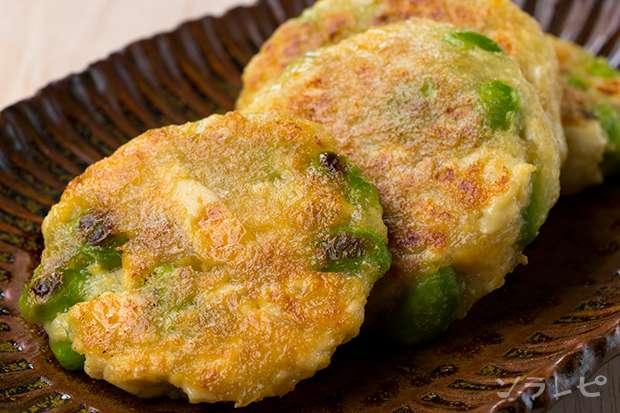 枝豆と豆腐のお焼き_main1