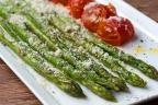 アスパラガスとプチトマトのグリル
