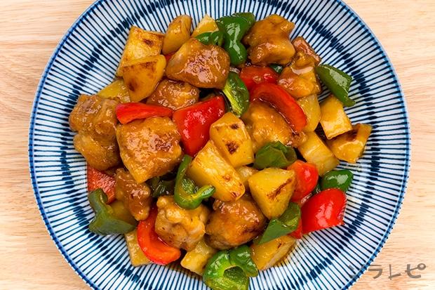野菜と鶏肉の甘酢炒め_main2