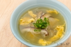 冬瓜と卵の中華スープ