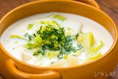 キャベツとジャガイモのミルクスープ