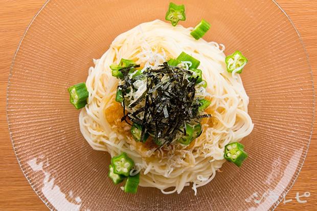 オクラおろし素麺_main2