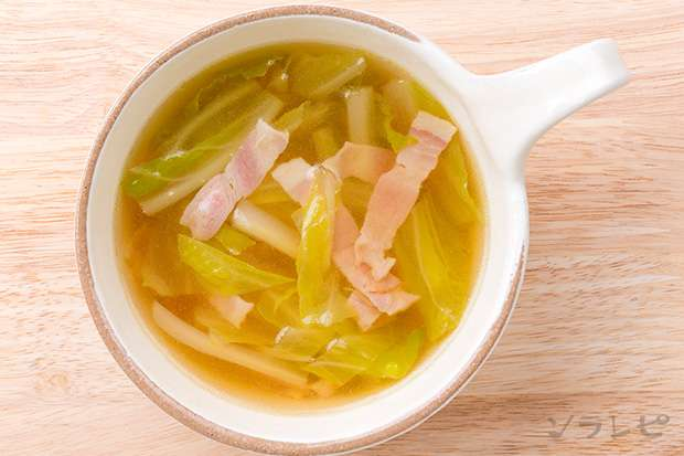 白菜とベーコンのスープ_main2