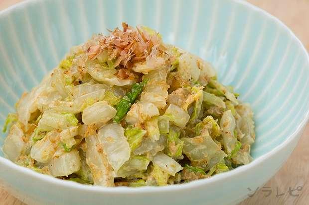 白菜のおかかオイマヨ和え_main1