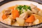 鶏肉と厚揚げの味噌煮