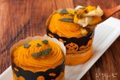 かぼちゃときのこのカップグラタン