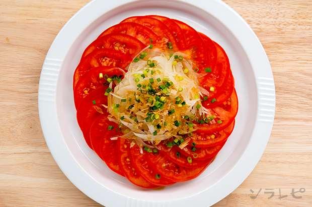 トマトとタマネギの和風サラダ_main2