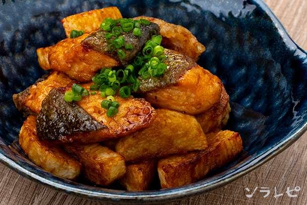 鮭と長芋の揚げ漬け_main1