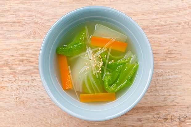 白菜とショウガの中華スープ_main2