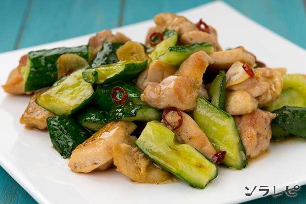 鶏肉とキュウリのナンプラー炒め_main1