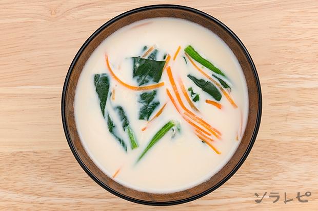ほうれん草のミルク味噌汁_main2
