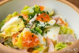 キャベツと卵のサラダ