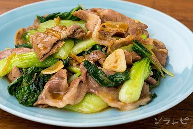 豚肉とチンゲンサイのオイスター炒め_main1