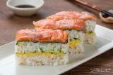 サーモン押し寿司