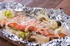 鮭の豆乳味噌焼き