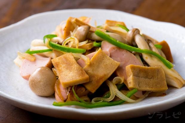 高野豆腐と魚肉ソーセージの炒め物_main1