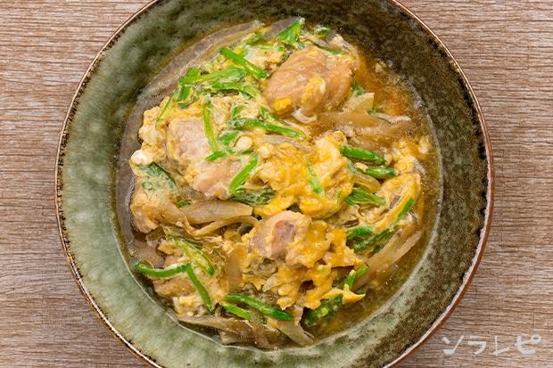鶏肉と絹さやの柳川風_main2
