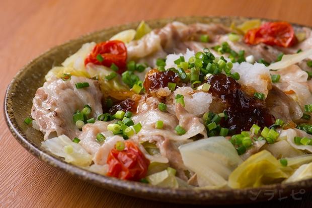 豚肉と野菜のポン酢ジュレ和え_main1