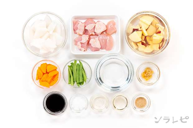 鶏肉とさつま芋のさっぱり煮_main3